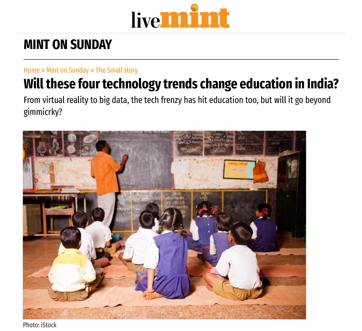 Will these four technology trends change education in India?